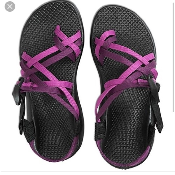66a3810cb32a Chaco Shoes - Purple Double Strap Chacos